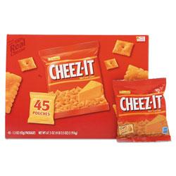 Keebler Cheez-it Crackers, Original, 1.5 oz Pack, 45 Packs/Carton