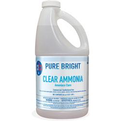 KIK Clear Ammonia, 64oz Bottle, 8/Carton