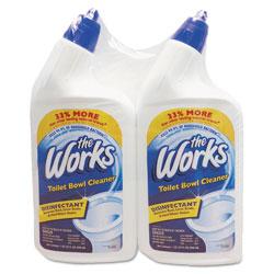 KIK Disinfectant Toilet Bowl Cleaner, 32 oz Bottle, 2/Pack