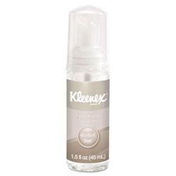 Kleenex Alcohol-Free Foam Hand Sanitizer, 1.5 oz, Clear