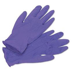Kimberly-Clark PURPLE NITRILE Exam Gloves, 242 mm Length, Medium, Purple, 100/Box