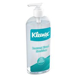 Kleenex Instant Hand Sanitizer, 8 oz, Pump Bottle, Sweet Citrus, 12/Carton