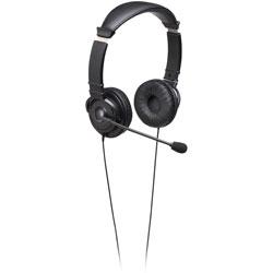 Kensington Hi-Fi Headpones w/Mic, Black