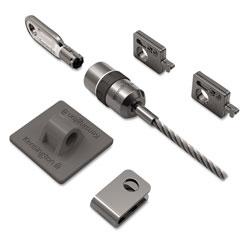 Kensington Desktop and Peripherals Locking Kit, 8ft Steel Cable, Two Keys