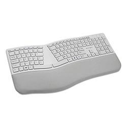 Kensington Pro Fit Ergo Wireless Keyboard, 18.98 x 9.92 x 1.5, Gray