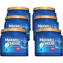 Maxwell House® Ground Coffee, Original, 30.6 oz., 6/CT, Medium Roast
