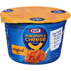Kraft Foods EasyMac Cups, Microwaveable, Original, 2.05 oz., 10/CT