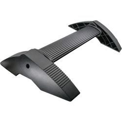 Kantek Footrest, Tilting Bar, 21-1/2 inWx13-1/2 inLx4 inH, Black