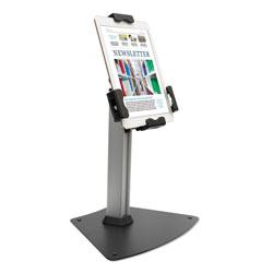 Kantek Tablet Kiosk Desktop Stand for 7 in to 10 in Tablets, Silver