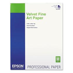 Epson Fine Art Velvet - Fine Art Velvet Paper - 25 Sheet(s)