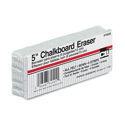 Charles Leonard 5-Inch Chalkboard Eraser, 5 in x 2 in x 1 in