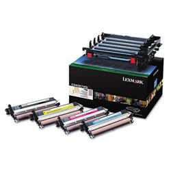 Lexmark C540X74G Photoconductor Unit, Black/Cyan/Magenta/Yellow Developer Units