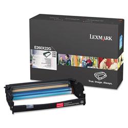 Lexmark E260X22G Photoconductor Unit, 30000 Page-Yield, Black