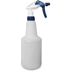Impact Trigger Sprayer Bottle, General Purpose, 24oz, 3/PK, Blue/White