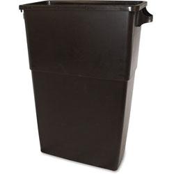 Impact Thin Bin Container, 23 Gallon, 23 inx30 inx11 in, Brown