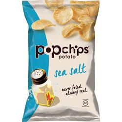 Lil Drugstore Potato Chips, Sea Salt, Gluten-Free, 3.5 oz., 6/CT
