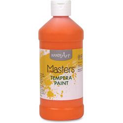 Little Masters Tempera Paint, Orange, 16 oz