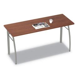 Linea Italia Trento Line Rectangular Desk, 59.13w x 23.63d x 29.5h, Cherry