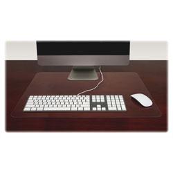 Lorell 24 x 19 Desk Pad, Clear