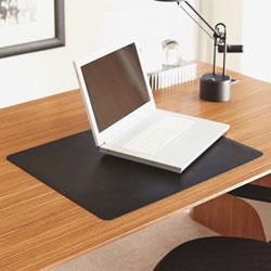 Lorell Deskpad, Nat Origins, 20 in x 30 in, Black