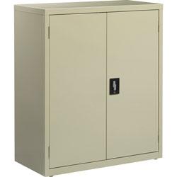 Lorell Storage Cabinet, 36 inx18 inx42 in, Putty