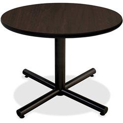 Lorell Bistro Round Table, 36 in, Espresso