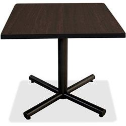 Lorell Square Tabletop, 36 in x 36 in, Espresso