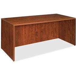 Lorell Desk Shell, 72 inx36 inx29-1/2 in, Cherry