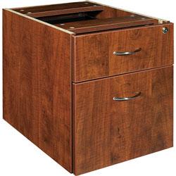 Lorell Pedestal,Box/File,Hanging,16 inx22 inx28-1/4 in,Cherry