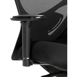 Lorell 6-Way Adjustment Arm Kit for LLR83106, Black