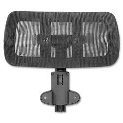 Lorell Optional Headrest, 12 in, f/LLR85560, BK