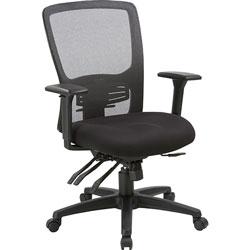 Lorell Chair, High-Back, 28-1/2 inWx28-1/2 inLx45 inH, Black