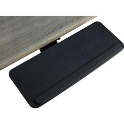 Lorell Keyboard Tray, Mountable, 10-9/10 inWx28-1/2 inLx5 inH, Black