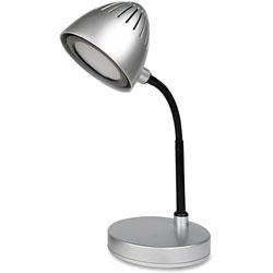 Lorell Desk Lamp, 3.5W/200LM, Silver