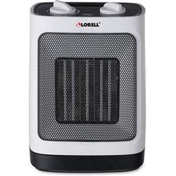 Lorell Ceramic Heater w/Oscillation, 900/1500 Watts, White
