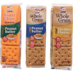 Lance Cracker Sandwhiches, Variety Pack, 24PK/BX