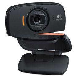 Logitech C525 Portable HD Webcam, 1280 pixels x 720 pixels, 1 Mpixel, Black