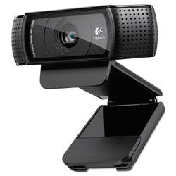 Logitech C920 HD Pro Webcam, 1920 pixels x 1080 pixels, 2 Mpixels, Black