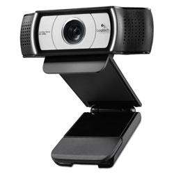 Logitech C930e HD Webcam, 1920 pixels x 1080 pixels, 2 Mpixels, Black