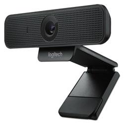 Logitech C925e Webcam, 1920 pixels x 1080 pixels, 2 Mpixels, Black