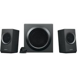 Logitech Speaker System, w/Bluetooth, Z337, 80 Watts Peak, Black