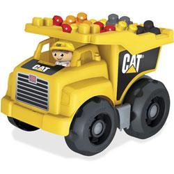 Mega Bloks Cart Large Dump Truck, Yellow
