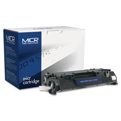 MICR Print Solutions Compatible CE505A(M) (05AM) MICR Toner, 2300 Page-Yield, Black