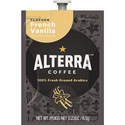 Mars Drinks Alterra French Vanilla Coffee, 100/CT, Black