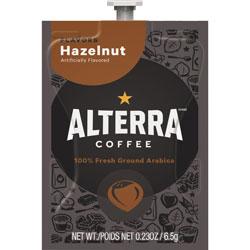 Mars Drinks Alterra Hazelnut Coffee, 100/CT, Black