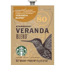 Starbucks Single-Serve Coffee, Freshpack, Veranda Blend, 0.32 oz.