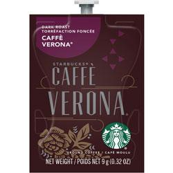 Starbucks Dark Roast Coffee, Caffe Verona, Freshpack, 80/CT