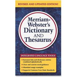 Merriam-Webster Merriam Websters Dictionary/Theasaurus, Ast