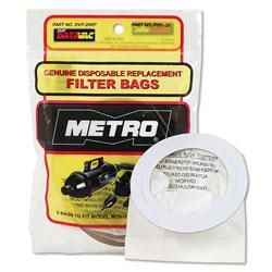 Metropolitan Vacuum Replacement Bags for Handheld Steel Vacuum/Blower, 5/Pack