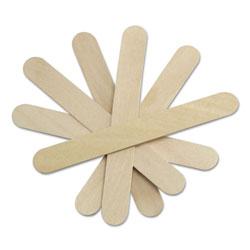 Medline Sterile Tongue Depressors, Wood, 6 in Long, 100/Box
